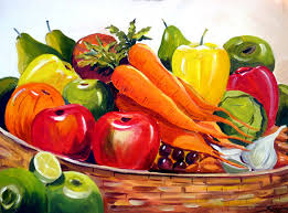 colourful fruits composition samiran sarkar artelista com