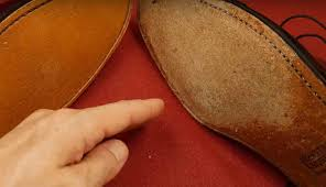 scuff up shoes to make them less slippery