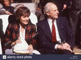 Petra Kelly next to her partner Gert Bastian Stock Photo - Alamy