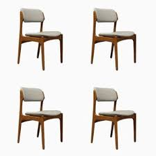 49 teak chairs by erik buch for o d mobler as 1960s set of 4