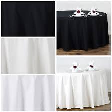 108 round 100 cotton tablecloths high quality wedding dinner banquet linens