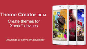 themes create create themes for xperia devices with theme creator beta youtube