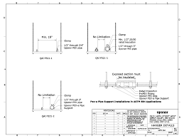 Trapeze Hanger Design Uponor Cad Domestic Water Piping Arcat
