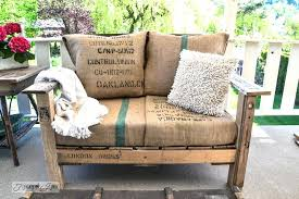 make pallet furniture. Pallet Furniture Cushions A Cool Wood Chair Anyone Can Make In Couple Of Hours K