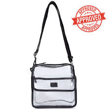 Purse Design Games Clear Cross Body Messenger Shoulder Bag Nfl Stadium Approved