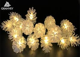 pinecone battery operated outdoor string lights hanging string lights on patio