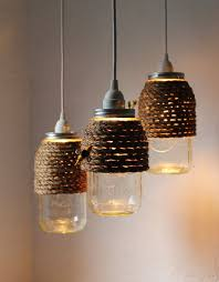 Turning Mason Jars Into Light Fixtures