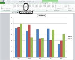 How To Insert Chart Title How To Add Titles To Excel 2010 Charts Dummies