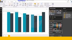 How To Create Line And Clustered Column Chart In Power Bi Desktop In Telugu Part 15