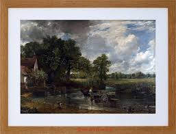 painting conle the hay wain old master framed
