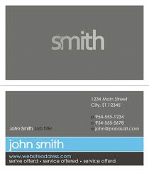 Business Card Templates Order Business Cards Panasall