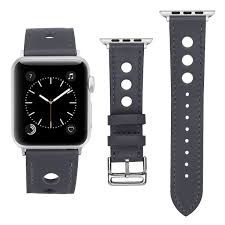 Designer Apple 4 Watch Bands Amazon Com Kwlet Compatible With Apple Watch Band 42mm Grey