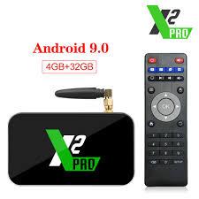 UGOOS X2 Pro Android 9.0 Smart TV Box 4GB RAM DDR4 32GB Amlogic S905X2 X2  Cube 2GB 16GB Set Top Box 2.4G/5G WiFi 1000M From Ecsale007, $50.38