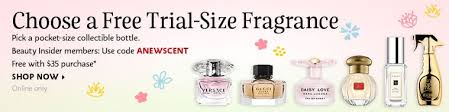 choose a free trial size fragrance pick a pocket