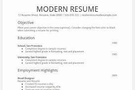 Modern Resume Template Google Docs Best of Resume Templates Free Google Docs Fresh Free Resume Templates