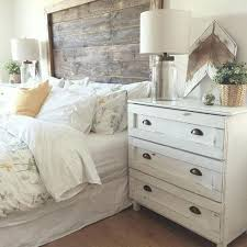 Rustic White Bedroom Furniture Farmhouse Bedding For Master Bedroom ...