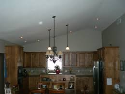 kitchen island lighting for vaulted ceiling