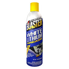 blaster 11 oz high performance white lithium grease