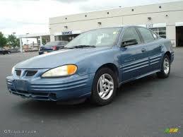 1999 Medium Gulf Blue Metallic Pontiac Grand Am SE Sedan #10048957 ...