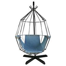ib arberg hanging birdcage chair or parrot chair circa 1970 1stdibs com