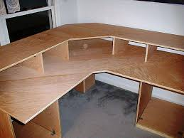 ... Image Of U Shaped Desk Plans Full size