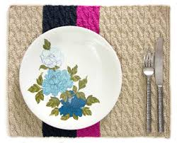 Knitted Placemat Patterns