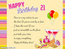 21st Birthday Wishes, Messages and 21st Birthday Card Wordings ... via Relatably.com