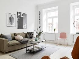 Scandinavian Design Living Room Living Room White Scandinavian Design Nice Rectangular Glass