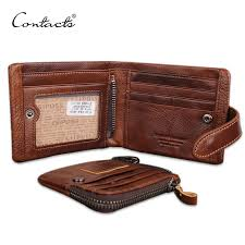 classical european and american style men wallets genuine leather wallet fashion zipper brand card holder wallet man n1103