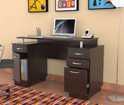 office desk with filing cabinet. Http://www.heramdecor.com/wp-content/uploads/2016/06/dark-brown-wooden-small- Desks-with-drawers-and-storage-having-silver-steel-handle-on-laminate-flooring. Office Desk With Filing Cabinet I