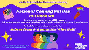 National Coming Out Day – University Housing – UW–Madison