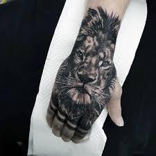 40 Lion Hand Tetování Vzory Pro Muže Noble Ink Myšlenky
