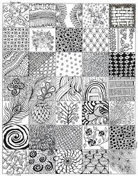 Zentangle Patterns For Beginners Gorgeous 48 Best Zentangle Mandalas Images On Pinterest Simple Zentangle