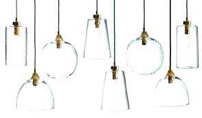 blown glass pendant lights hand