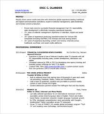 Digital Media Producer Sample Resume Awesome Digital Resume Template 44 Free Word Excel PDF Format Download