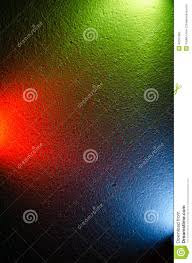 Colorful Background Mixing Different Colors Of Light Stock Photo