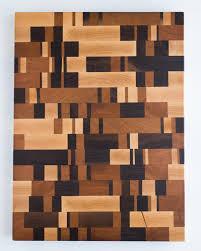 Large Random End Grain Cutting Board  16 x 12 x 1.5
