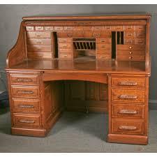 antique roll top desk exceptional oversize quarter oak s roll top desk antique