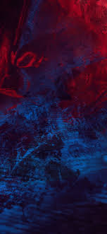 Abstract Blue Red Splash wallpaper ...