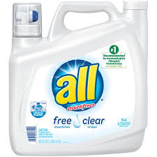 detergent for sensitive skin. Fine Skin All Liquid Laundry Detergent Free Clear For Sensitive Skin 141 Ounce 94  Loads On For Skin