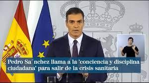 Sánchez sitúa a España en el nivel extremo de alerta por la Covid pero no  anuncia nuevas medidas - YouTube