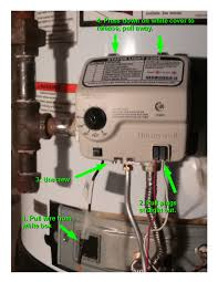 rheem water heater flashing blue light