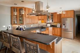 cherry wood cabinets soapstone countertops soapstone sink