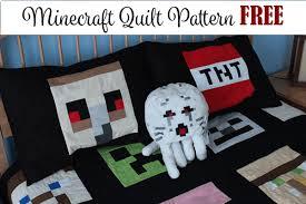 Minecraft Quilt Pattern FREE - My Handmade Space &  Adamdwight.com