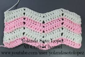 Double Crochet Ripple Afghan Pattern Inspiration How To Crochet Ripple Stitch YouTube