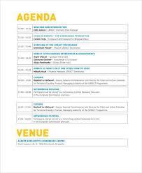 Top 5 Best Event Agenda Templates