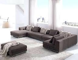 large u shaped sofa stylish large u shaped sectional sofa with warm ivory rug and sheer
