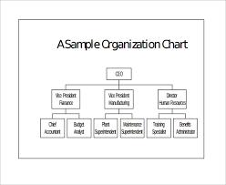 Blank Ics Org Chart Sample Basic Organization Chart 17 Documents In Word Pdf