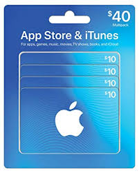 app itunes gift cards multipack of 4 10 design may vary