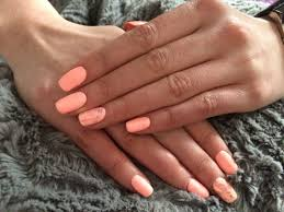 England Flag Nail Designs Sleeping Beauty Semilac Glass Effect Nails Beauty